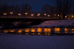 Isar in Winter