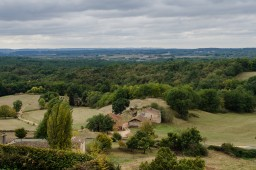 View from Chateau de Biron