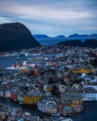 Alesund in the Evening