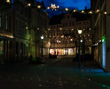 Alesund at Night