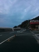 Road out of Misaki // 三崎町