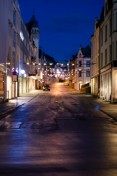Dark Streets in Alesund